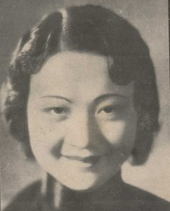 Li Lili in UPS Pictorial 1935-02